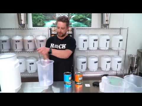 Black Rock Brewing 101 - Brewing your first Black Rock Kit