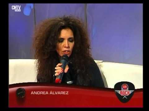 Andrea Alvarez video Entrevista CM Rock - Junio 2015