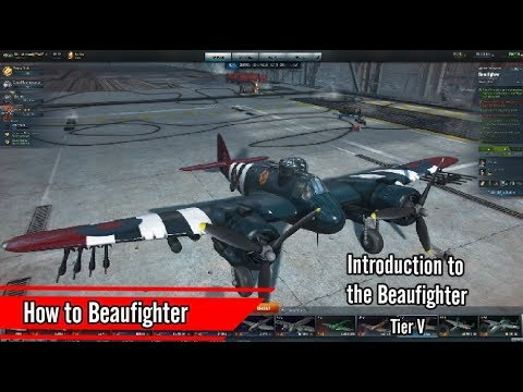 Bristol Beaufighter - Introduction to British Heavies