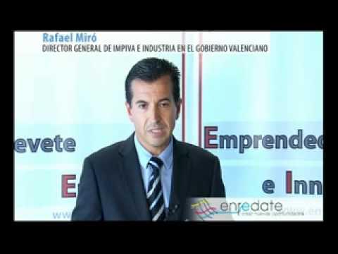 D. Rafael Miró, Director General del IMPIVA e INDUSTRIA. Gobierno Valenciano.