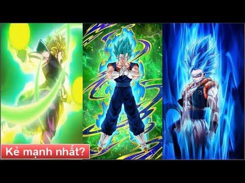 Dragon Ball Super : Gogeta, Vegito và Broly ai là kẻ mạnh nhất? - Thời lượng: 5 phút, 56 giây.