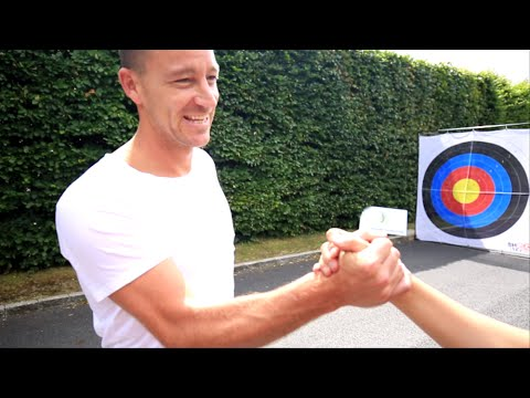 Video: Chelsea captain John Terry takes 'Shoot For Love' football challenge and delivers
