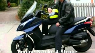 10. 2014 KYMCO Downtown 300i Features