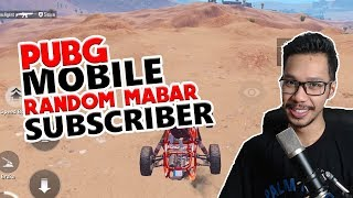 Video MABAR RANDOM SUBSCRIBERS - PUBG MOBILE INDONESIA MP3, 3GP, MP4, WEBM, AVI, FLV Desember 2018