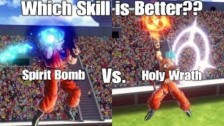 As always thank you guys for watching I hope you guys enjoyed this skill test between holy wrath an spirit bomb let me know your thoughts on the video down below as well as which move you think is better between holy wrath and spirit bomb or if you like both holy wrath and spirit bomb but just for different situations like I explained in the video!Reaction Channel: https://www.youtube.com/channel/UCp_5SaZkHPAsMt3Pgi9QNOATwitch:https://www.twitch.tv/ssjcabby28Twitter:https://twitter.com/Ssjcabby28