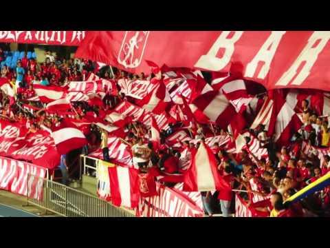 VIDEO CANTO DALE RO BANDERAS BOMBOS  CARNAVAL BRS 2016 - Baron Rojo Sur - América de Cáli