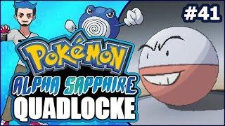 Pokémon AlphaSapphire Randomizer Quadlocke Part 41   ARCHIE'S HIDDEN GEMS by Ace Trainer Liam