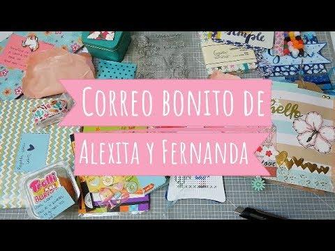 Frases de amistad - Correo bonito de Alexita y Fernanda!!! gracias amigas!!