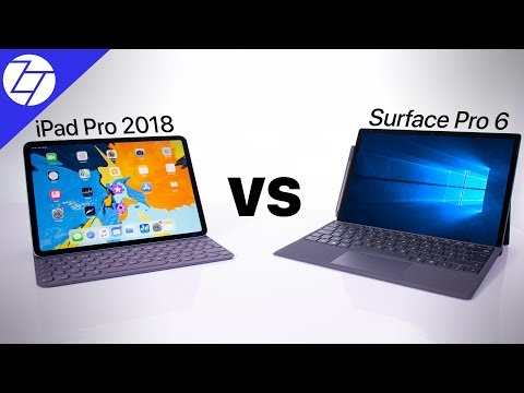 iPad Pro 2018 vs Surface Pro 6 - Which One to Get?