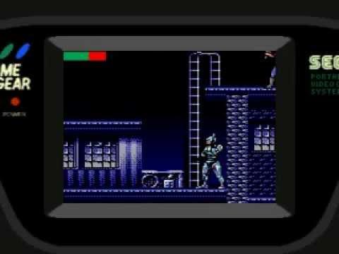 RoboCop vs Terminator Game Gear