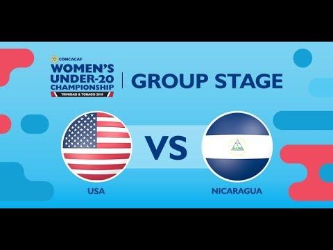 CU20W: United States vs. Nicaragua