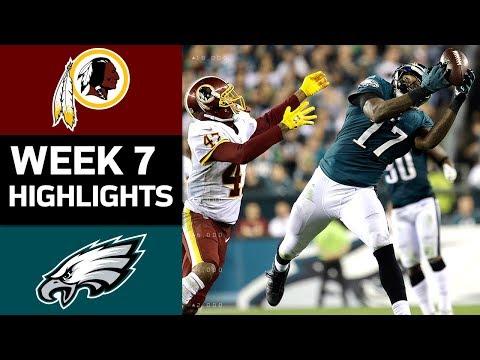Redskins vs. Eagles | NFL Week 7 Game Highlights - Thời lượng: 8:20.