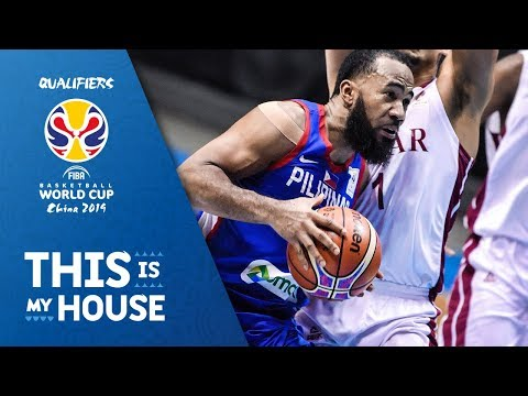 Philippines v Qatar - Highlights - FIBA Basketball World Cup 2019 - Asian Qualifiers (видео)