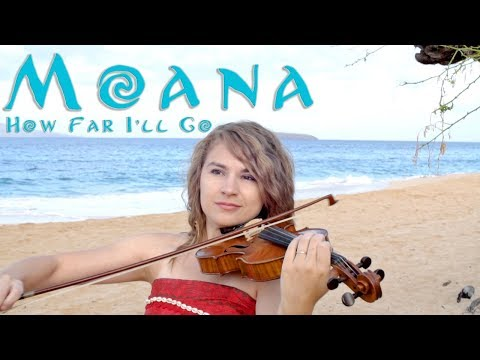 How Far I'll Go Violin Cover by Taylor Davis