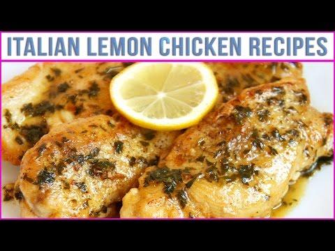 Italian Lemon Chicken Recipes - Best Recipes In World