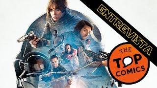 """Entrevista al elenco de la película """"Rogue One"""""""