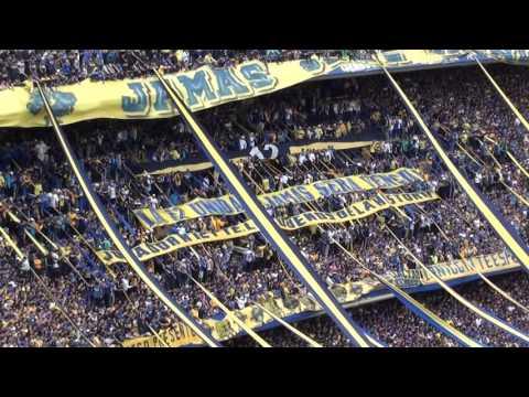 Boca riBer 2016 / No te deja de alentar - La 12 - Boca Juniors