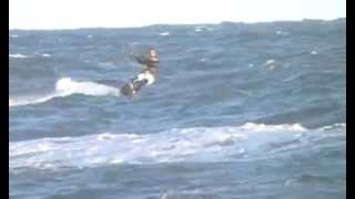Extreme Kitesurf Mar Del Plata Big Waves