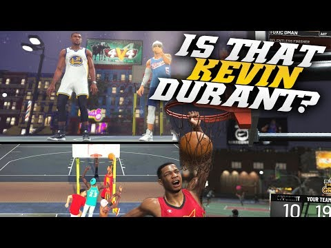 Pure Lock Wants Revenge! This Kevin Durant Build Got Carried! Nba 2k19 Park (pure Slasher)