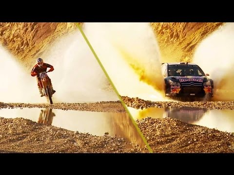 rally car vs enduro bike