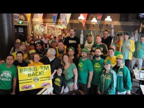 VIDEO: Sonics Rally at FX McRory's