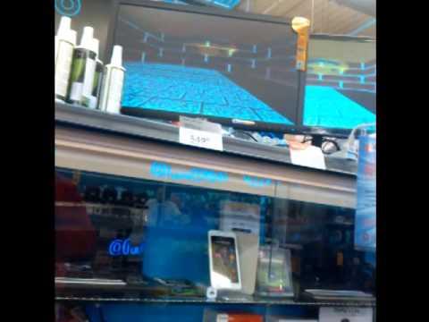 Carrefour (Gdańsk, Morena) - wygaszacz ekranu z Windows 95