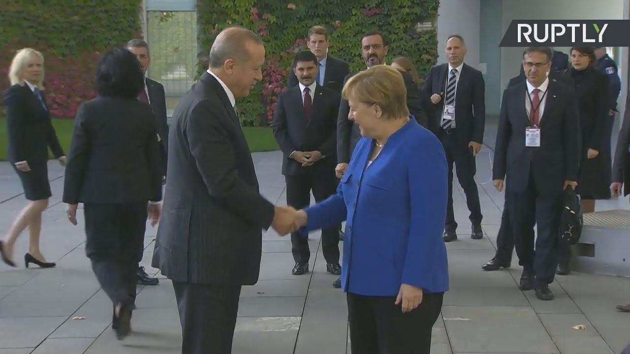 Συνάντηση του Τούκου Προέδρου με την Α. Μέρκελ