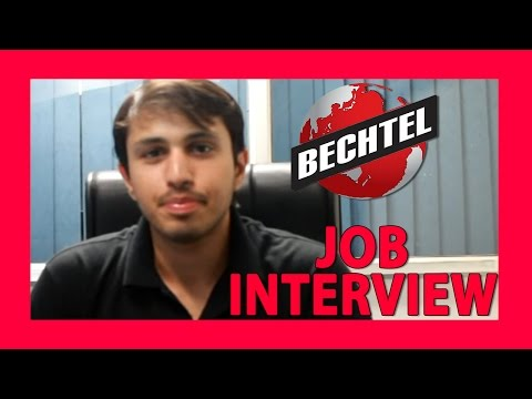 Bechtel Interview-  Interview Expeience, Suggestions and Tips