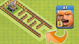 Video ONE TROOP!! ONE MAZE!!😀EAGLE MAZE RACE😀Clash Of Clans MP3, 3GP, MP4, WEBM, AVI, FLV Mei 2017