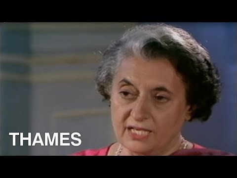 Indira Gandhi  Interview - TV Eye - 1978