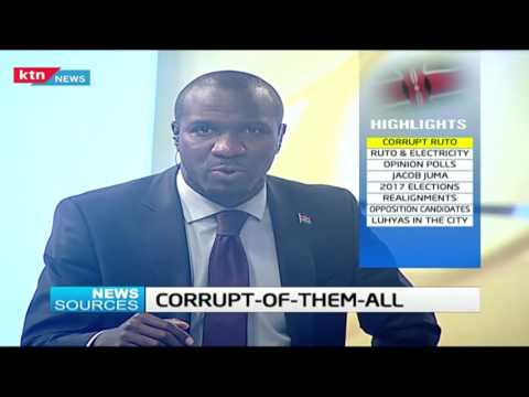 News Sources: Corrupt Ruto, 23rd August 2016