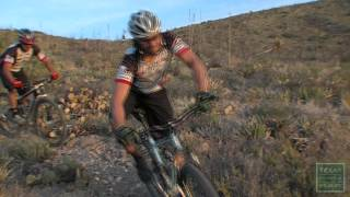 Nice video of the MTB trails on the East and West side of the Franklin Mountains.