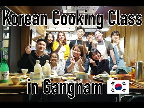 Korean Cooking Class In Gangnam