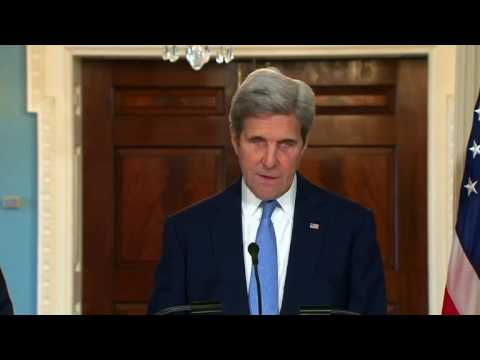 Kerry says US will defend S. Korea with