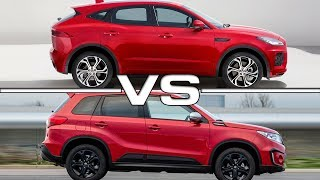 2018 Jaguar E-Pace vs 2017 Suzuki VitaraSong: Tide [Rewind Remix Release]Music provided by Rewind Remix https://goo.gl/08ZthIArtist: Coss(me) & Sundew