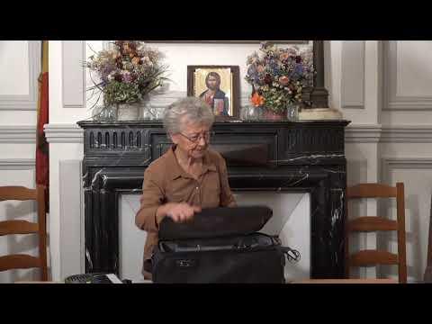 CDS Paris, 17 octobre 2019: Hélène Sejournet - Mémorisation de l'évangile