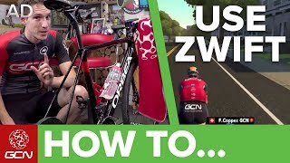Video How To Use Zwift | Zwift For Beginners MP3, 3GP, MP4, WEBM, AVI, FLV November 2018