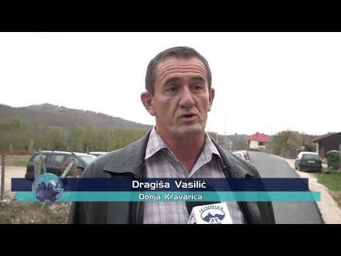 У ЛУЧАНСKОЈ ОПШТИНИ АСФАЛТИРАН ПУТНИ ПРАВАЦ ДОЊА KРАВАРИЦА-ЛОПАШ