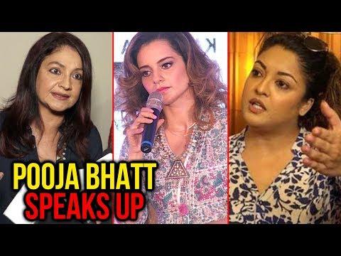 Pooja Bhatt REACTS On Kangana Ranaut And Tanushree