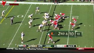 Duke Johnson vs Georgia Tech (2013)