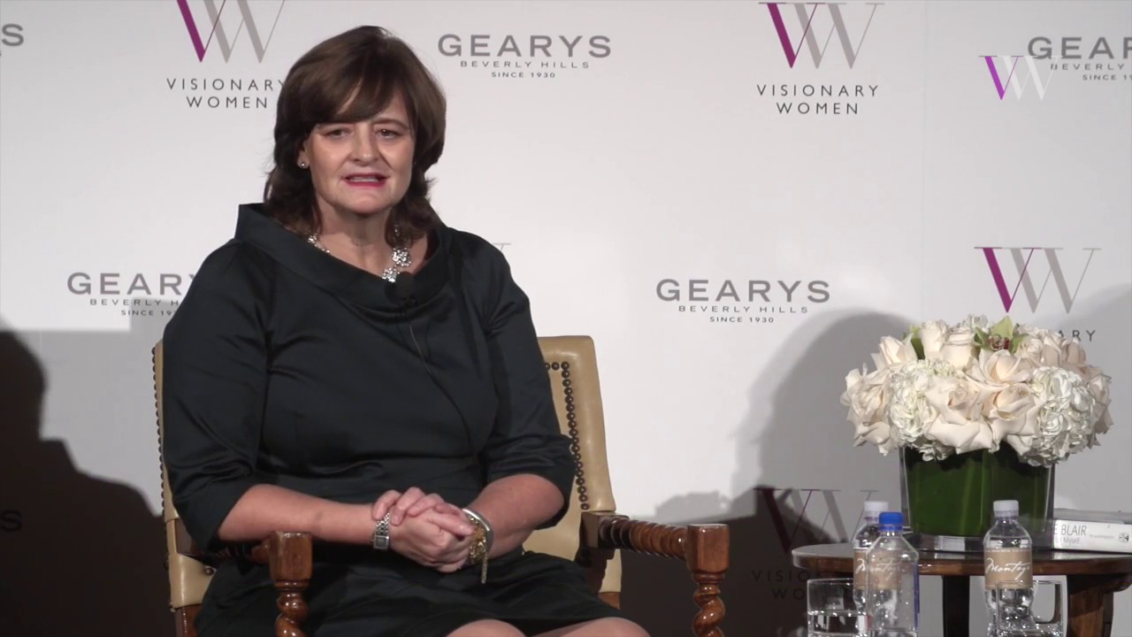 Cherie Blair On How to Accelerate Women's Economic Development