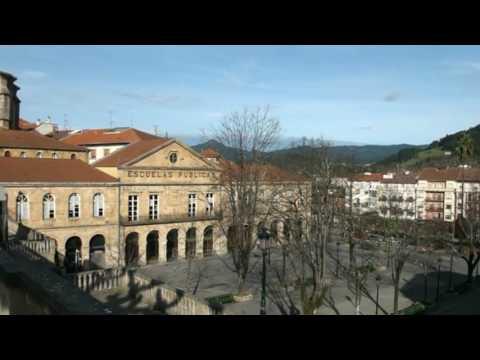 Paisaje casco antiguo de Guernica y Lumo, Vizcaya, País Vasco, Euskadi