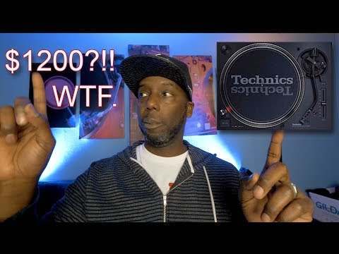 Technics 1200 MK7 and Reloop RP800 MK2 - New Turntables for 2019  Technics list price is INSANE!