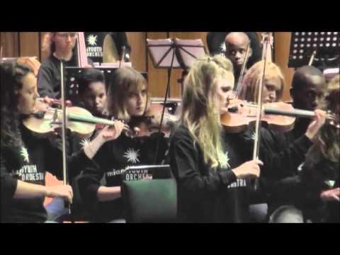 MIAGI Jugendorchester aus Südafrika in Hamburg