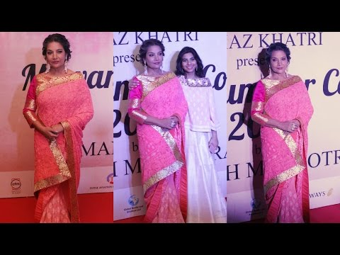 Shabana Azmi At Red Carpet Of Mijwan Summer 2017