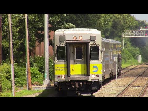 LIRR: Afternoon Montauk Branch Meets at Mastic Shirley