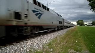 Bradley (IL) United States  City pictures : Amtrak 390 Late at Bradley IL