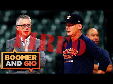 Astros hit HARD by MLB | Boomer and Gio