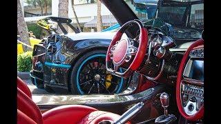 Video BEST Supercars Drive By - Pagani Huayra L'ULTIMO Pagani BC Bugatti - Exotic Car Collectors Weekend MP3, 3GP, MP4, WEBM, AVI, FLV Desember 2018
