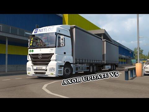 Mercedes Benz Axor + Addons Update v5